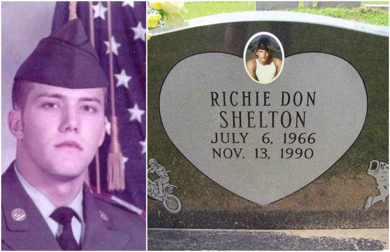 Blake Shelton`s siblings - half-brother Richie Shelton