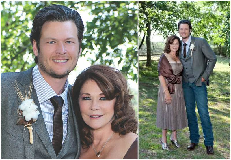 Blake Shelton`s family - mother Dorothy Shackleford