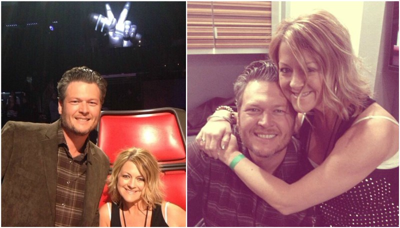 Blake Shelton`s siblings - sister Endy Shelton