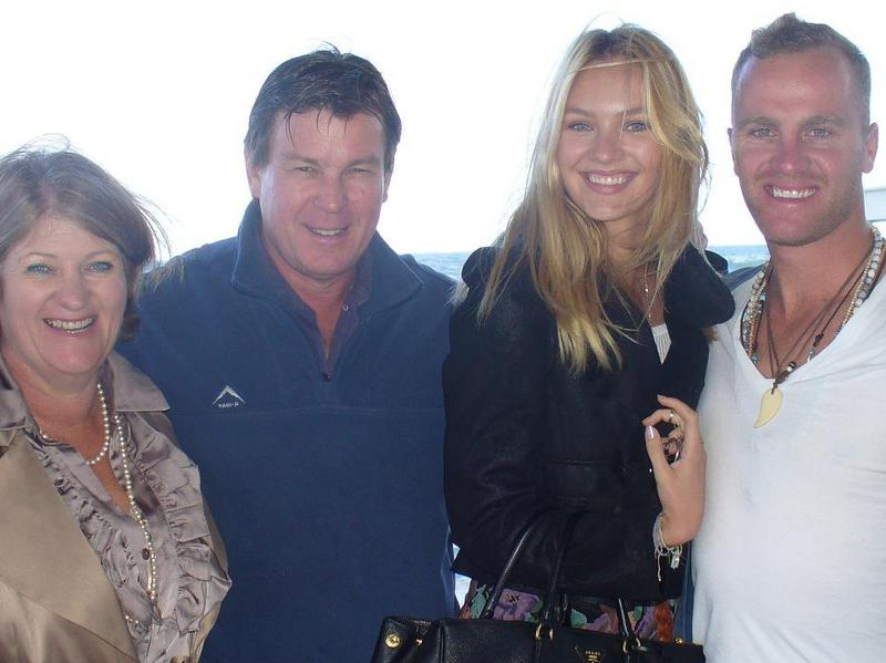 Candice Swanepoel`s family: parents and brother