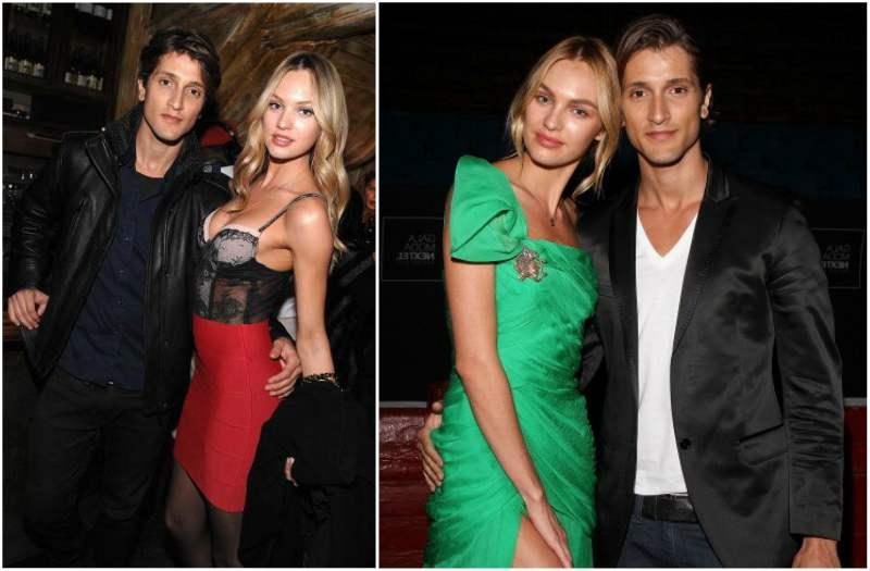 Candice Swanepoel`s family - fiance Hermann Nicoli