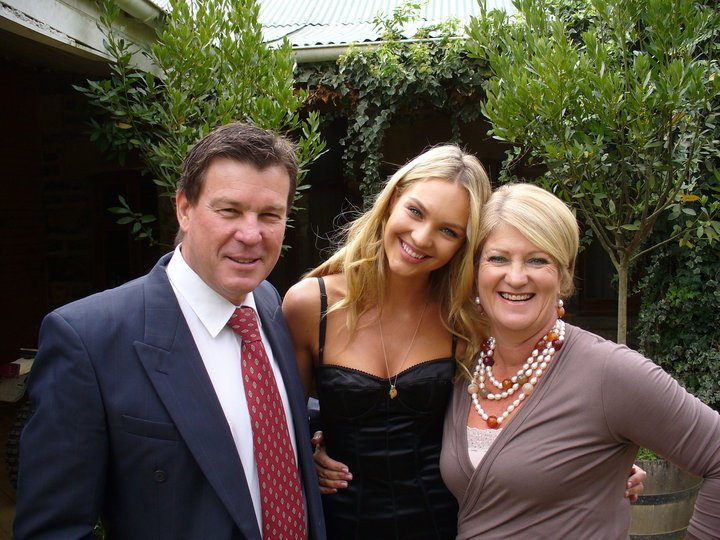 Candice Swanepoel`s family - parents