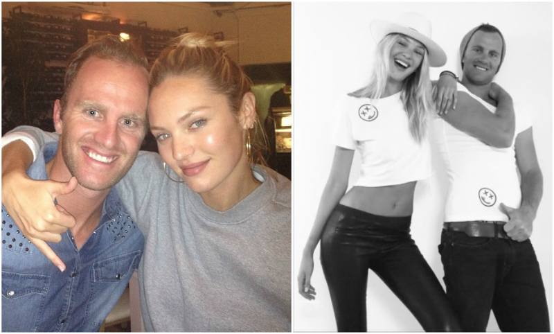 Candice Swanepoel`s siblings - brother Stephen Swanepoel