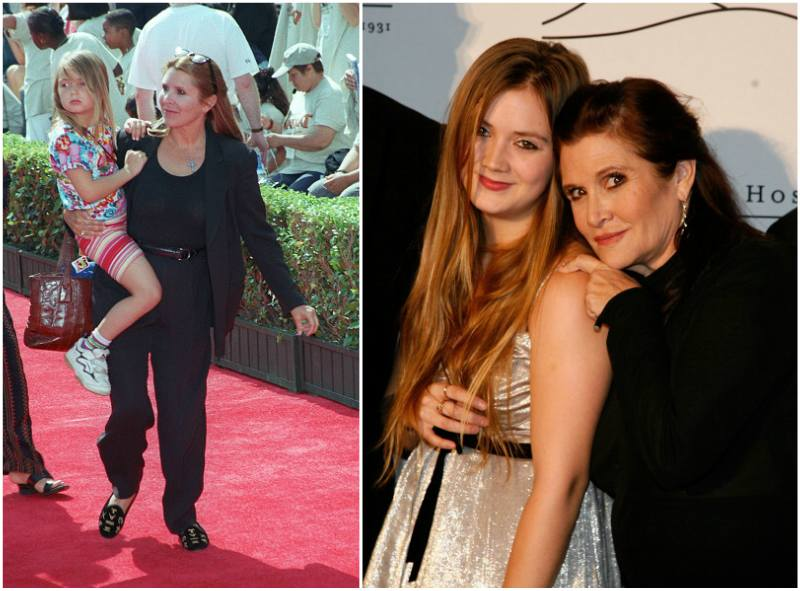 Carrie Fisher`s children - daughter Billie Catherine Lourd