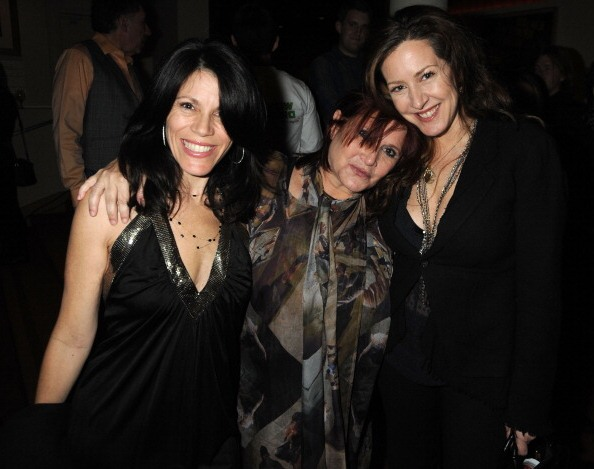 Carrie Fisher with half-sisters Joely and Tricia Fisher