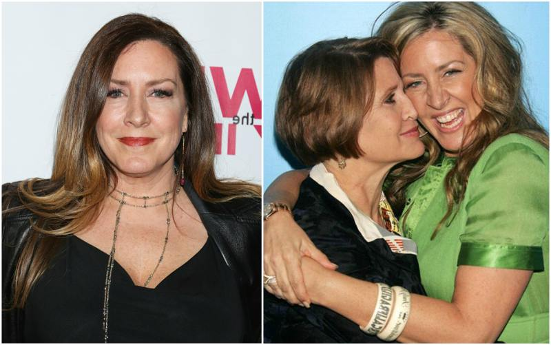 Carrie Fisher`s siblings - half-sister Joely Fisher