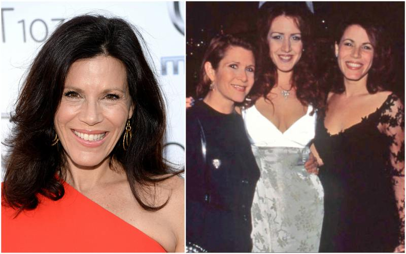 Carrie Fisher`s siblings - half-sister Tricia Leigh Fisher