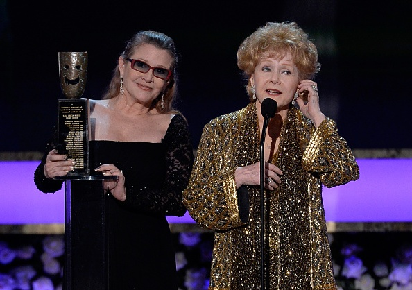 Carrie Fisher`s family - mom Debbie Reynolds