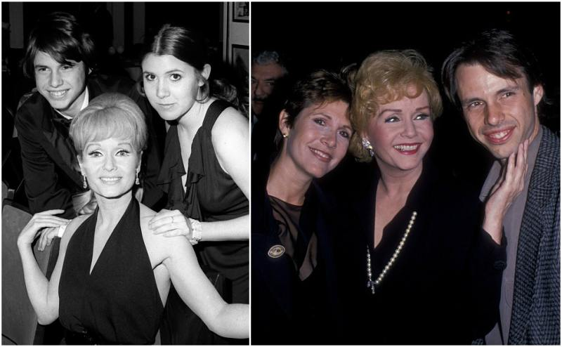 Carrie Fisher`s siblings - brother Todd Fisher