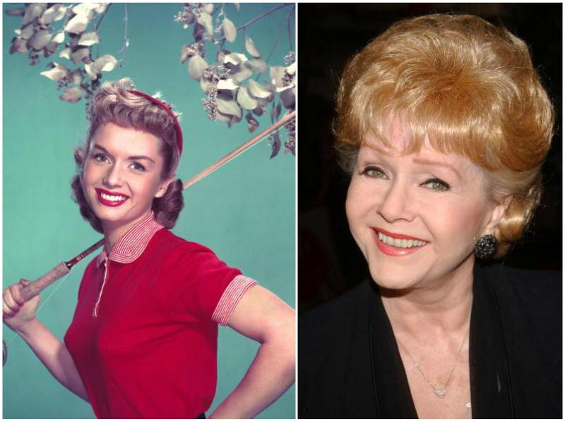 Carrie Fisher`s family - mother Debbie Reynolds