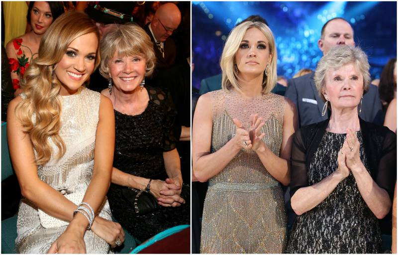 Carrie Underwood`s family - mother Carole Underwood