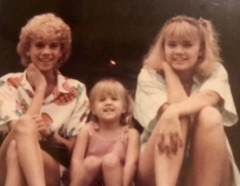 Carrie Underwood's family - sisters