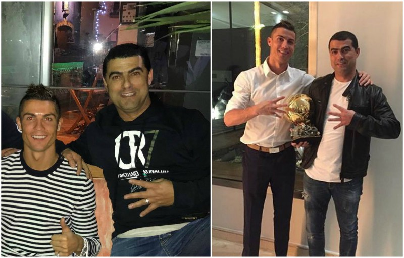 Cristiano Ronaldo`s siblings - brother Hugo Aveiro