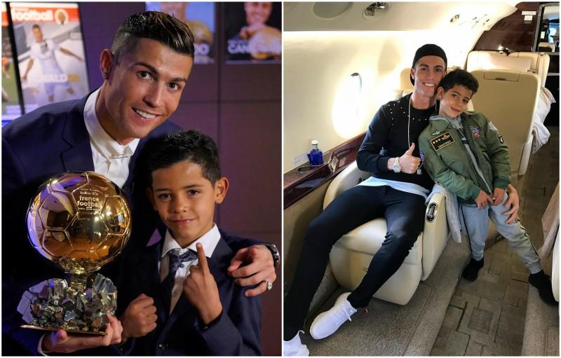 Cristiano Ronaldo's children - son Cristiano Ronaldo Jr.