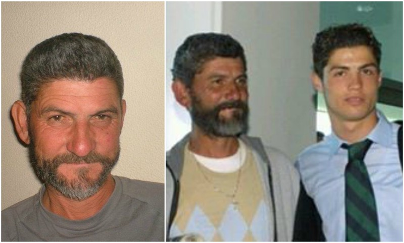 Cristiano Ronaldo`s family - father Jose Dinis Aveiro