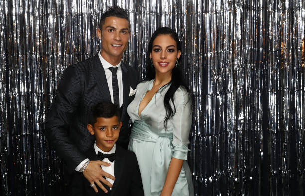 Cristiano Ronaldo's family - girlfriend Georgina Rodriguez