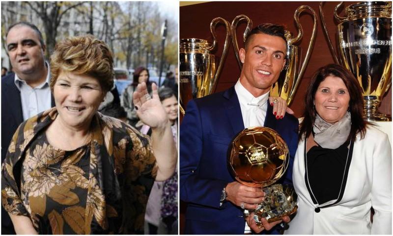 Cristiano Ronaldo`s family - mother Maria Dolores dos Santos Aveiro