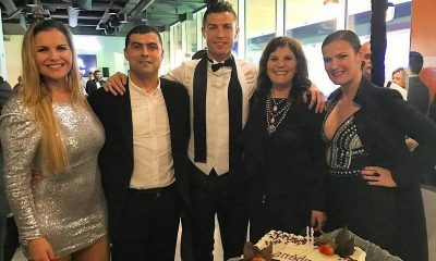 Cristiano Ronaldo`s family: mother, siblings