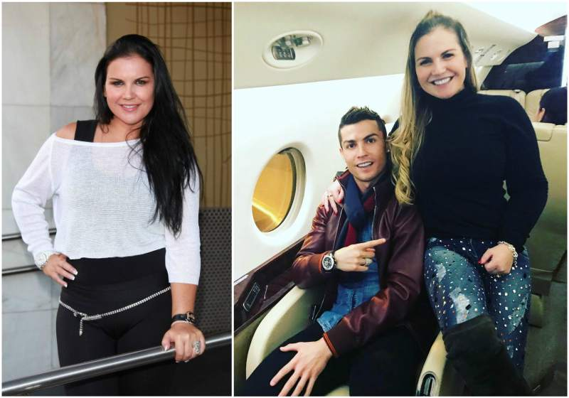 Cristiano Ronaldo`s siblings - sister Katia Aveiro
