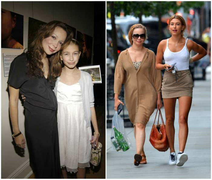 Hailey Baldwin`s family - mother Kennya Baldwin