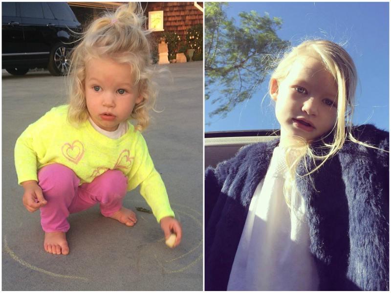 Jessica Simpson`s children - daughter Maxwell Drew Johnson