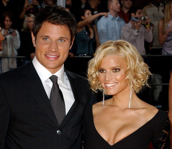 Jessica Simpson`s family - ex-husband Nick Lachey