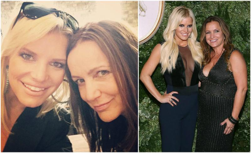 Jessica Simpson`s family - mother Tina Simpson