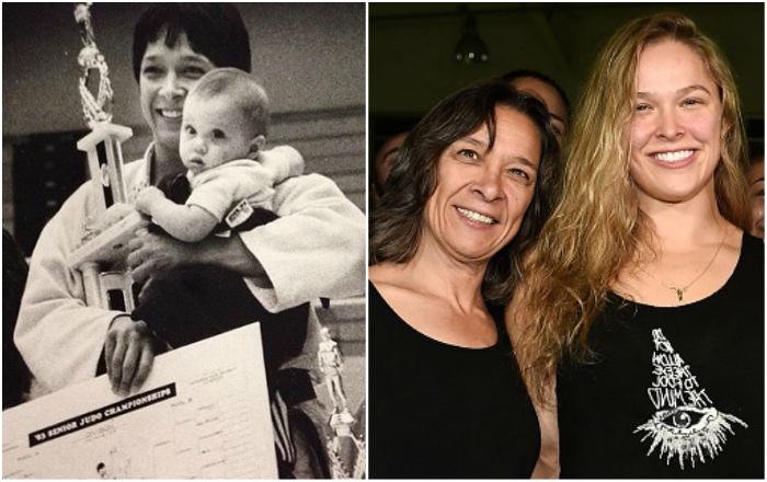 Ronda Rousey`s family - mother AnnMaria De Mars