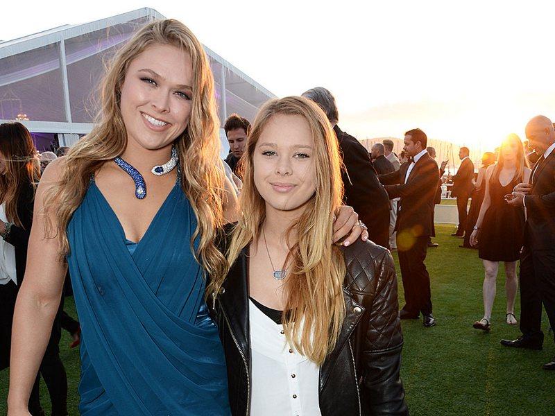Ronda Rousey`s siblings - half-sister Julia de Mars