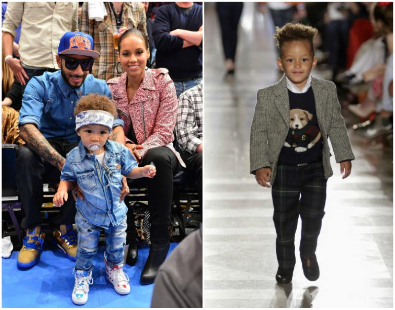Alicia Keys` children - son Egypt Dauode Dean
