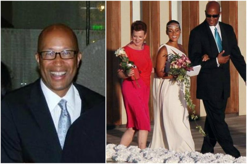 Alicia Keys` family - father Craig Cook