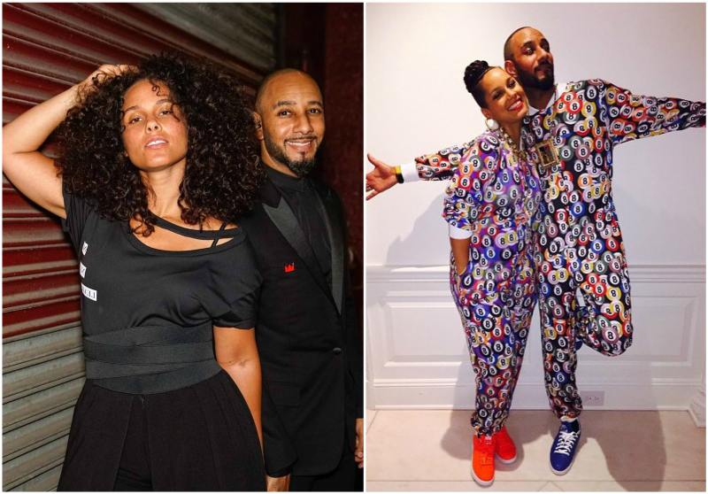 Alicia Keys`s family - husband Swizz Beatz (birth name Kasseem Dean)