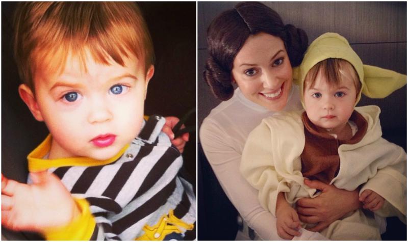 Alyssa Milano`s children - son Milo Bugliari