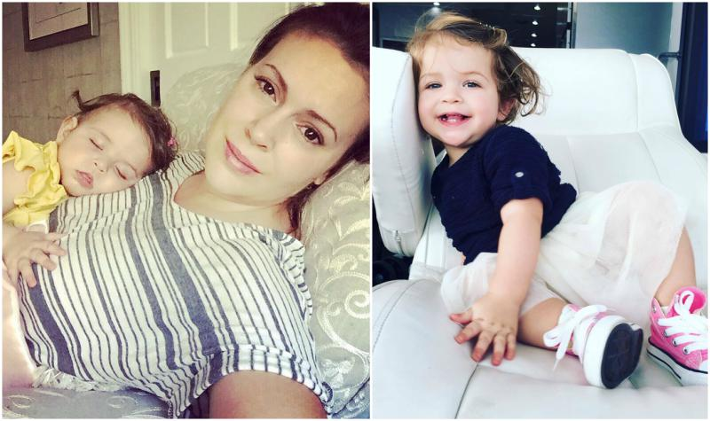 Alyssa Milano`s children - daughter Elizabella Bugliari