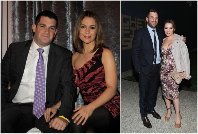 Alyssa Milano`s family - husband David Bugliari