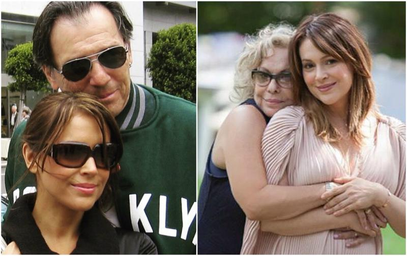 Alyssa Milano`s family - mother Lin Milano