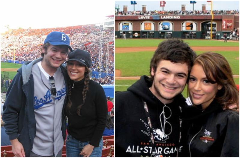 Alyssa Milano`s siblings - brother Cory Milano
