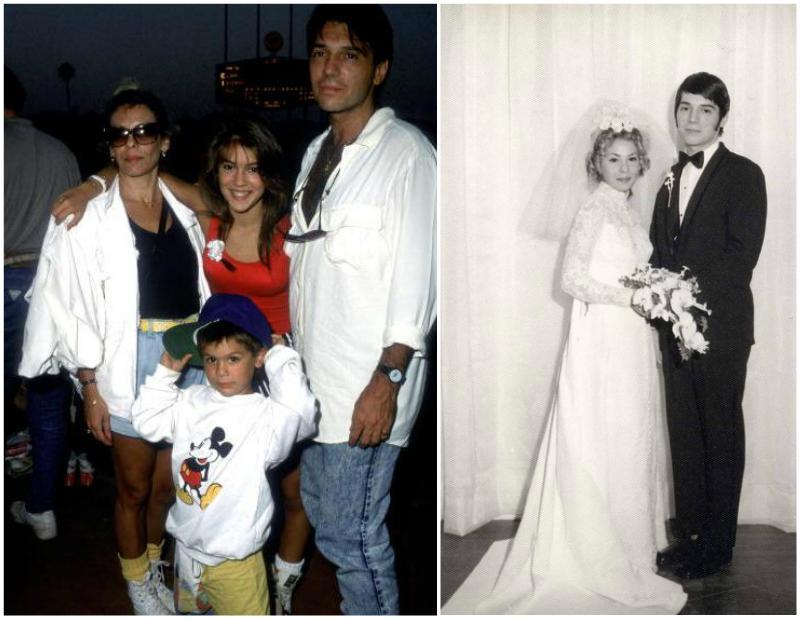 Alyssa Milano`s family