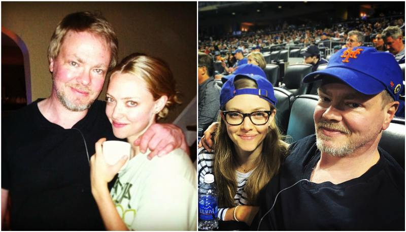 Amanda Seyfried`s family - father Jack Seyfried