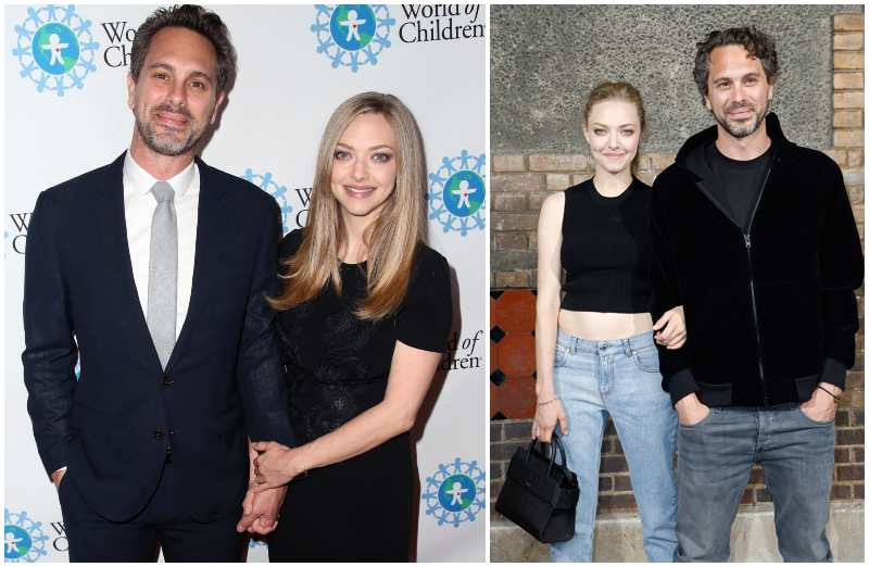 Amanda Seyfried's family - husband Thomas Sadoski