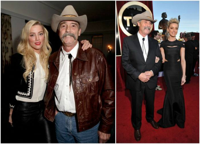 Amber Heard`s family - father David Heard