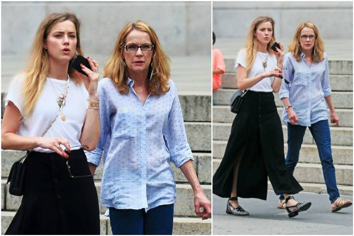 Amber Heard`s family - mother Paige Parsons