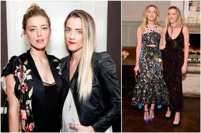 Amber Heard`s siblings - sister Whitney Heard