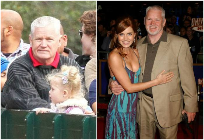 Amy Adams` family - father Richard Adams