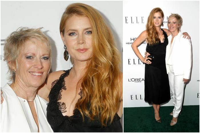 Amy Adams` family - mother Kathryn Adams