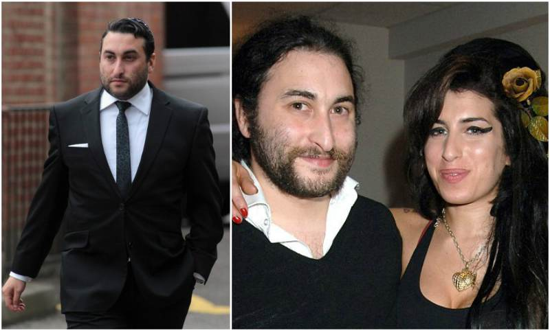 Amy Winehouse`s siblings - brother Alex Winehouse