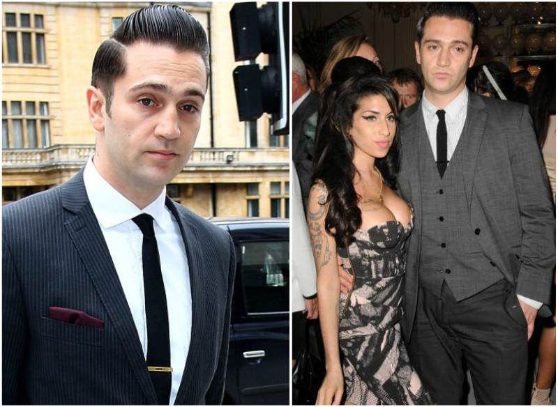 Amy Winehouse`s boyfriend Reg Traviss