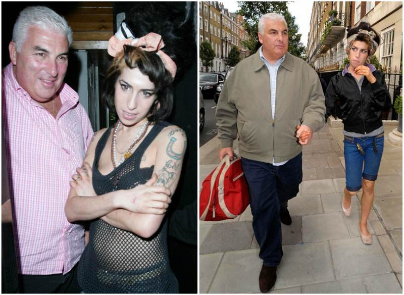 Amy Winehouse`s family - father Mitch Winehouse