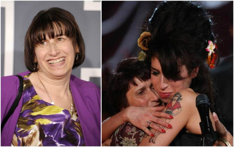 Amy Winehouse`s family - mother Janis Winehouse