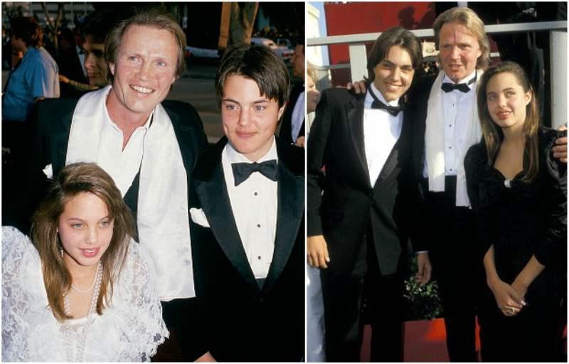 Angelina Jolie`s siblings - brother James Haven